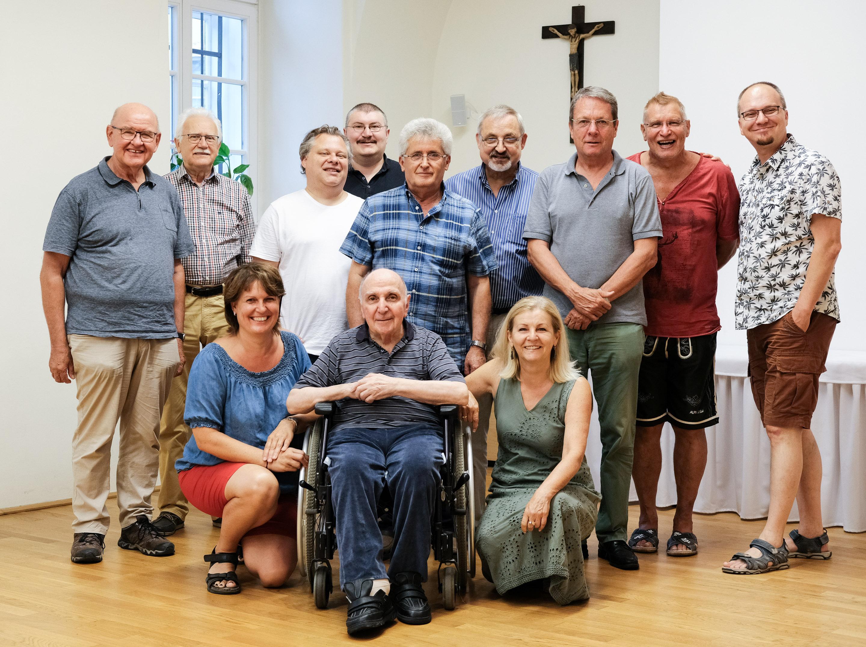 Besuch bei Pater Koger in Maria am Gestade am 27. Juli 2019