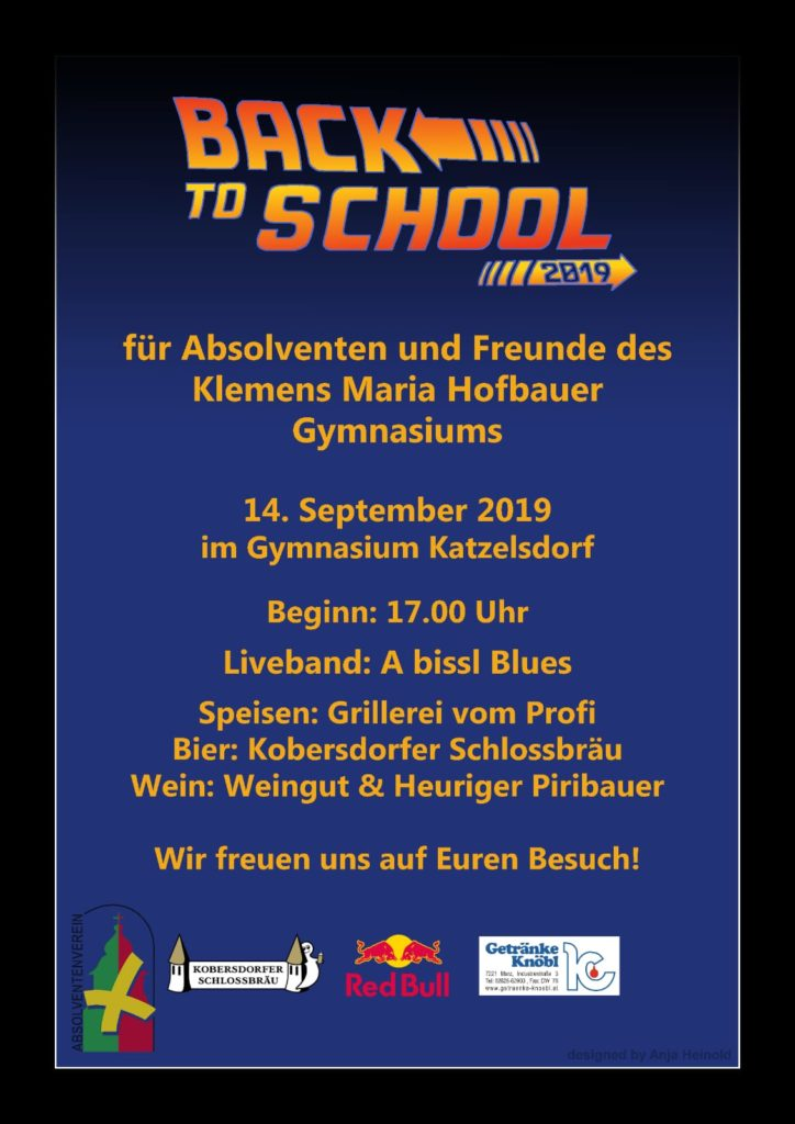 Back To Shool 2019 Flyer